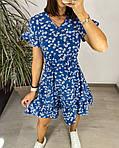 Сукня з гумкою на талії і квітковим принтом, фото 8