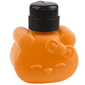 Помпа-дозатор Hello Kitty, 320 мл помаранчева