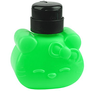 Помпа-дозатор Hello Kitty, 320 мл зелена