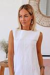 Платье лен с карманами, фото 2