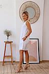 Платье лен с карманами, фото 3