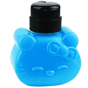 Помпа-дозатор Hello Kitty, 320 мл блакитна