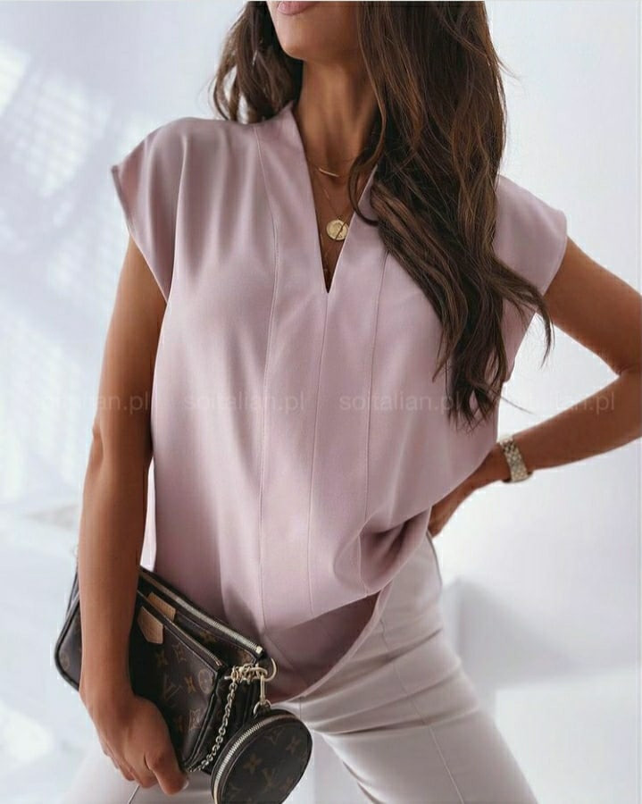 Женская блузка софт (Батал)