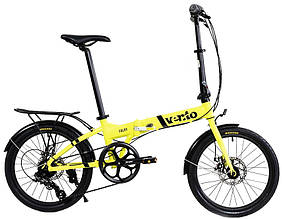 Велосипед Vento Foldy 2021 желтый складной