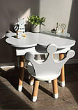 Стол полуоблако с пеналом и 1 стул корона, фото 2