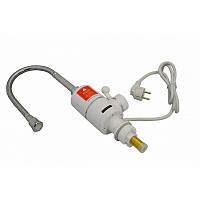 Электрический проточный водонагреватель для кухни Grunhelm EWH-1X-3G-FLX 3000 Вт белый
