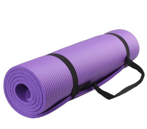 Йогамат NBR 1см коврик для йоги фитнеса 173 х 61, фото 2