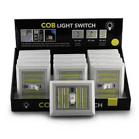 Ліхтарик BL 604 + з тумблером COB (Ціна за упаковку 20 шт.!!!)