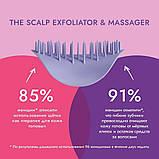 Щітка для масажу голови Tangle Teezer The Scalp Exfoliator and Massager Onyx Black, фото 5