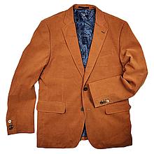 Пиджак брендовый мужской - Brown (однотонный)
