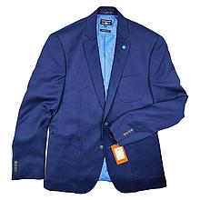 Пиджак брендовый мужской - Blue (синий однотонный)