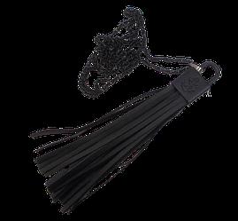 Кулон з ланцюжком чорний