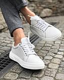 Чоловічі кросівки. Шкіряні кросівки., фото 2