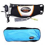 Пояс вибромассажер для похудения Vibro Shape Виброшейп Пояс массажный для живота и ягодиц, фото 2