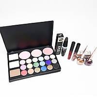 Набор декоративной косметики с палеткой MAC (палетка , тени, тушь, мейкап, макияж, makeup)