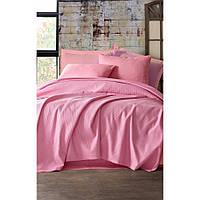Покрывало пике Eponj Home вафельное 200х235 розовое NН240376