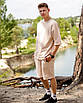 Комплект чоловічий літній шорти + футболка Oversize Ф, фото 3