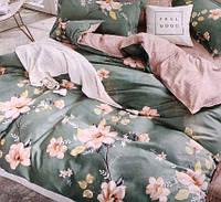 Постельное белье из фланели цветочный принт