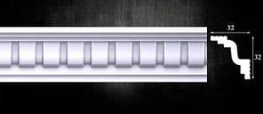 Плинтус потолочный Оптима Декор 407, 32х32х2000мм