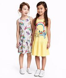 Летние сарафаны и платья для деток