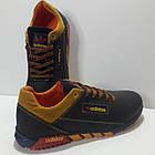 Кросівки чоловічі Adidas р. 41 шкіра Харків темно-сині, фото 8