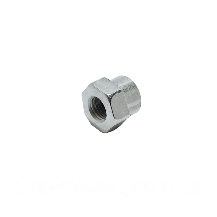 Гайка М8 левая на катушку автомат (1,25;1,2 мм.) Oleo Mak
