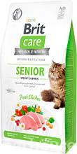 Brit Care Cat GF Senior Weight Control, 400кг (контроль веса д/взрослых котов)