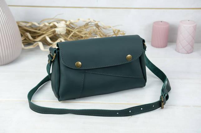Жіноча сумка Френкі, шкіра Grand, колір Зелений, фото 2