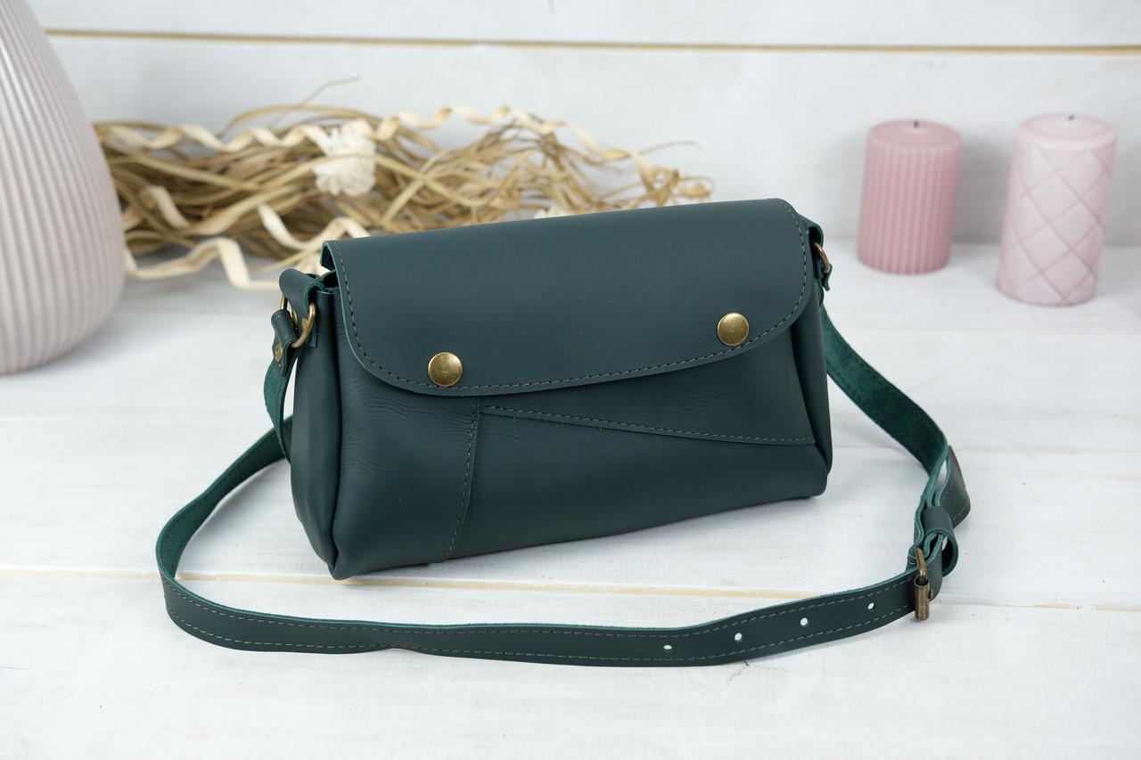 Жіноча сумка Френкі, шкіра Grand, колір Зелений