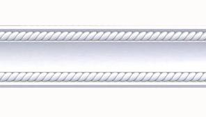 Плинтус потолочный Оptima Decor 715 2 м 53*53 мм