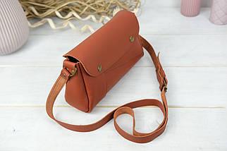 Женская сумка Френки, кожа Grand, цвет Коньяк, фото 2