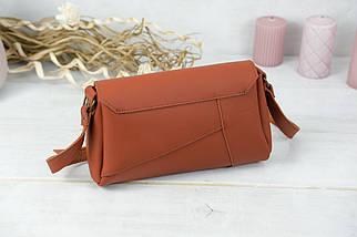 Женская сумка Френки, кожа Grand, цвет Коньяк, фото 3