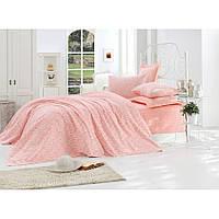 Покрывало пике Eponj Home вафельное 200х235 розовое NН240437