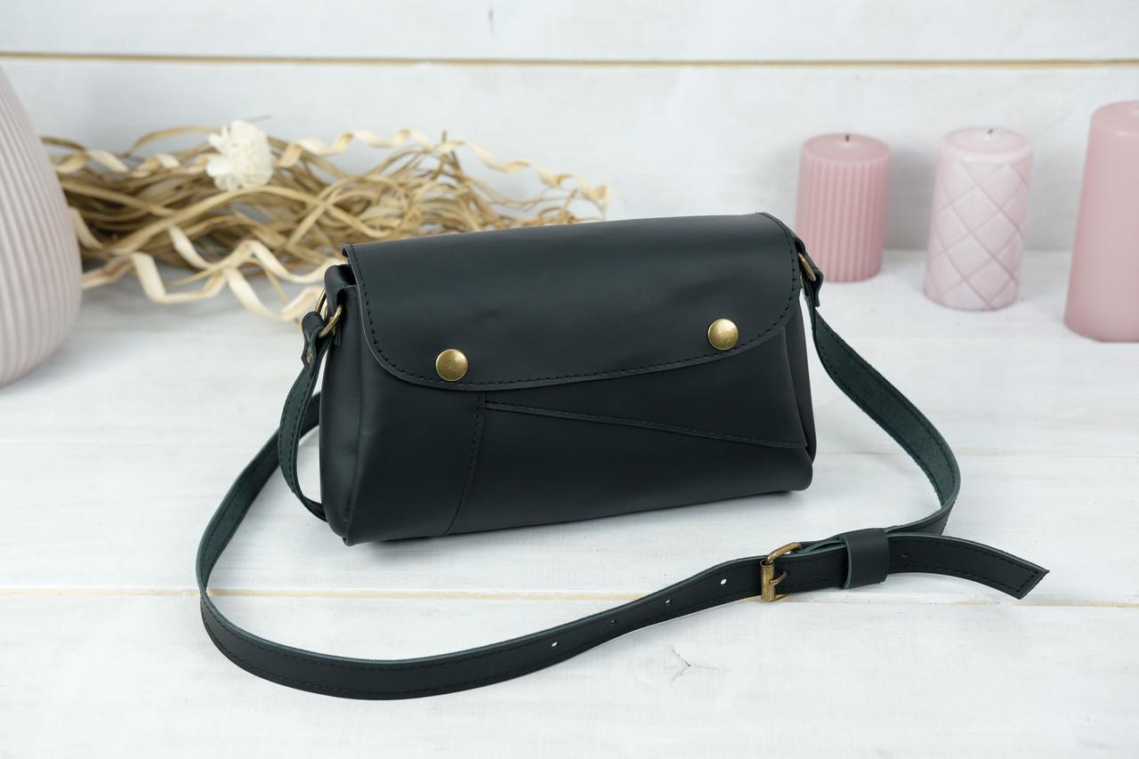 Женская сумка Френки, кожа Grand, цвет Черный
