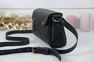 Женская сумка Френки, кожа Grand, цвет Черный, фото 3