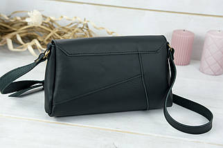 Женская сумка Френки, кожа Grand, цвет Черный, фото 2