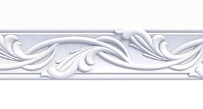 Плинтус потолочный Оptima Decor 717 2 м 53*53 мм