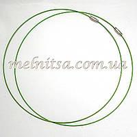 Заготовка для колье, цвет зеленый