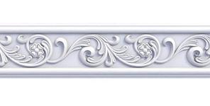 Плинтус потолочный Оptima Decor W71 2 м 73*73 мм