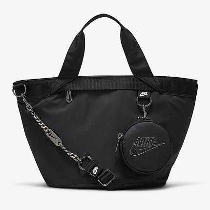 Сумка жіноча Nike NSW Futura Luxe Tote CW9303-010 Чорний (194956623410), фото 2