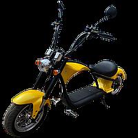 Электроскутер (Q-2005) желтый
