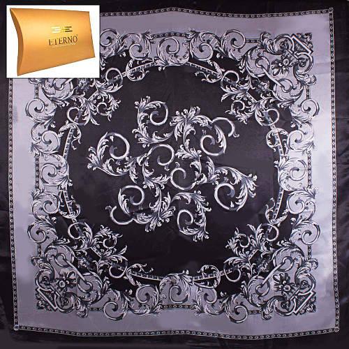 Женский оригинальный атласный платок размером 91*89 см ETERNO (ЭТЕРНО) ES0406-5-18