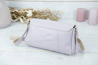 Жіноча сумка Френкі. гладка шкіра, колір Бузковий, фото 2