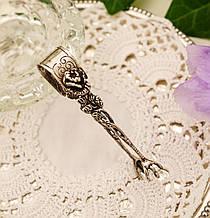 Серебряные щипцы для сахара, серебро 800 пробы, Германия, гусиные лапки