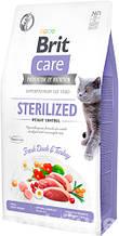 Brit Care Cat GF Sterilized Weight Control,  0,4кг (контроль веса д/стерилизованных)