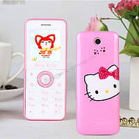 Hello Kitty P43 мини телефон для девочки (1 сим-карта хелло китти)