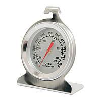 Градусник для духового шкафа серебристый (SLNS), внутренний термометр для газовой и электрической духовки,