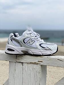 Жіночі білі кросівки New Balance 530.Жіночі спортивні кросівки розмір 37(23,5 см) Нью Беланс Шкіряні