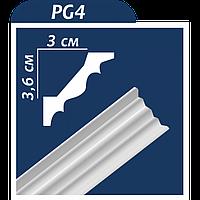 Плинтус потолочный Premium decor PG4
