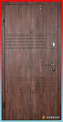 Входные двери модель Duo (Цвет Дуб портовый + Сонома) комплектация Classic